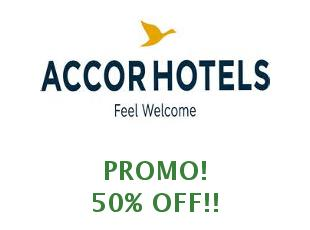 Coupons Accor Hotels save up to 50%