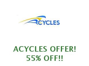Discount coupon Acycles save up to 15%