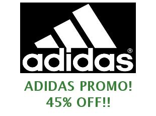 Discount code Adidas 15% off
