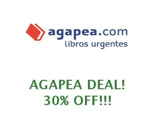 Promotional code Agapea