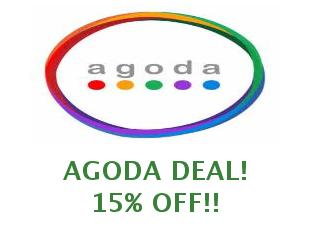 Promotional offers and codes Agoda save up to 10%