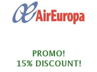 Coupons Air Europa