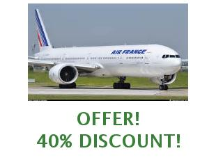 Promotional offers and codes Air France