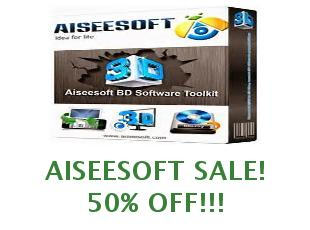Coupons Aiseesoft save up to 40%
