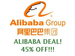 Promotional codes and coupons Alibaba