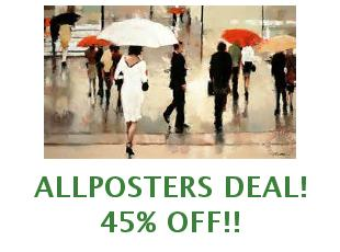 Promotional codes Allposters save up to 35%