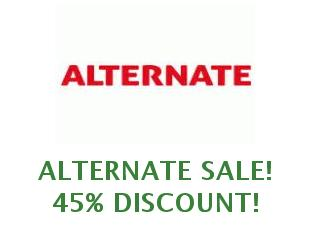 Discount coupon Alternate save up to 10%