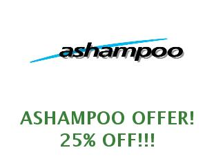 Discount code Ashampoo save up to 70%