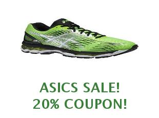 Promotional codes and coupons ASICS save up to 50%