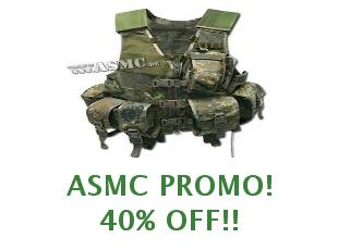 Promotional codes and coupons ASMC