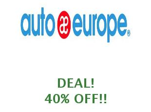 Promotional code Autoeurope save up to 25%
