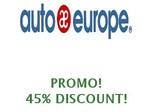 Promotional code Autoeurope save up to 25% | July 2019