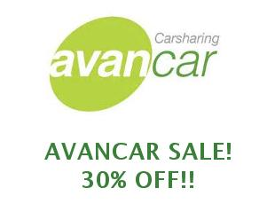 Promotional offers and codes Avancar save up to 25%
