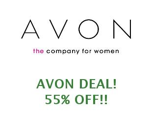 Promotional codes and coupons Avon save up to 50%