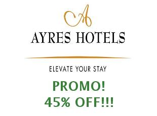 Discount code Ayre Hoteles save up to 25%