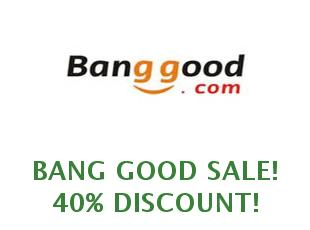 Discount code 20% off Bang Good