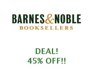 Discount coupon Barnes and Noble save up to 15%