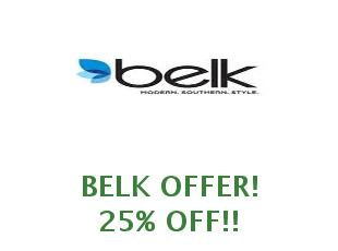 Discount coupon Belk save up to 30%