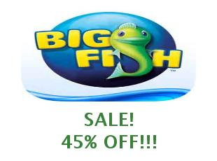 Promotional codes Big Fish Games 50%