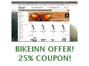 Promotional codes and coupons Bikeinn save up to 15%