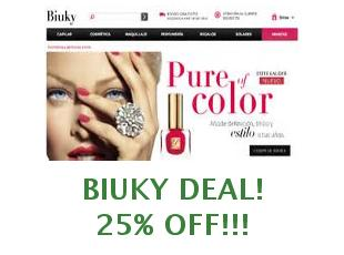 Promotional offers and codes Biuky