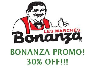 Discount coupon Bonanza save up to 25%