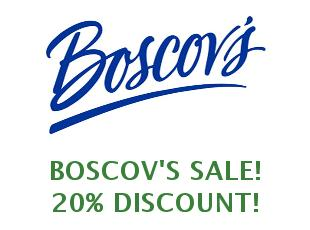Discount coupon Boscov's save up to 15%