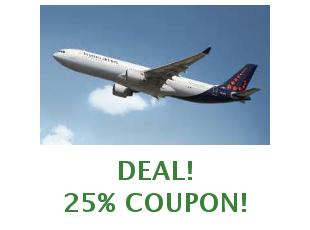 Promotional codes and coupons Brussels Airlines