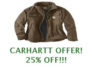 Promotional codes and coupons Carhartt