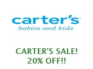 Promotional codes Carter's save up to 50%