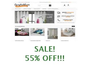 Discount coupon Casa y textil save up to 10%