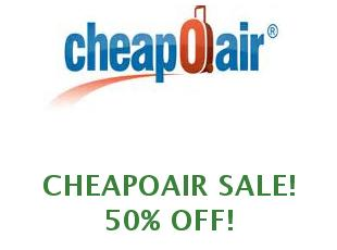 Discount coupons CheapOair
