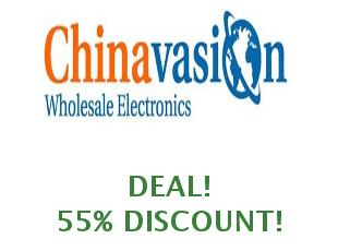 Promotional codes and coupons Chinavasion save up to 20%