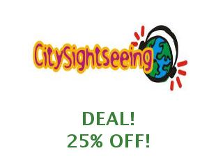 Discount code City Sightseeing 10% off