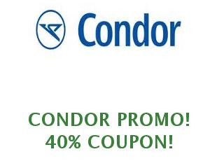 Promotional offers and codes Condor