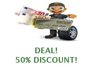 Discount coupon ConfortAuto save up to 20 euros