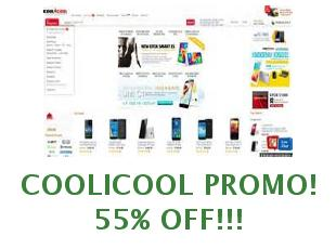 Promotional coupons CooliCool, save 10$