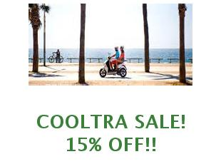 Promotional code Cooltra save up to 15%