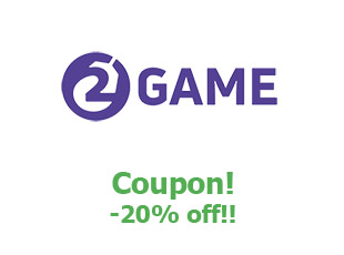 Discount coupon 2game save up to 20%