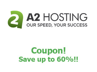 Discount code A2 Hosting save up to 60%