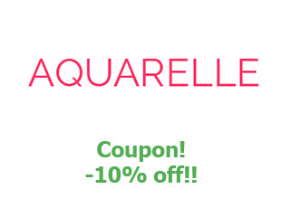 Promotional offers and codes Aquarelle 10% off