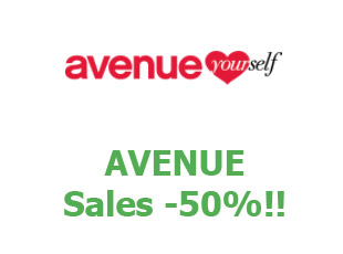 Promotional codes and coupons Avenue save up to 50%