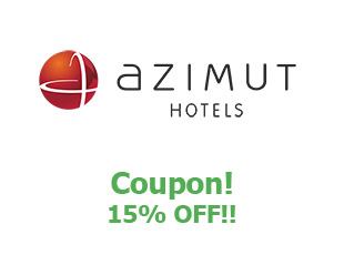 Coupons Azimut Hotels 15% off