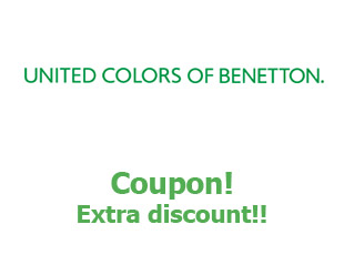 Discount coupon Benetton 10% off