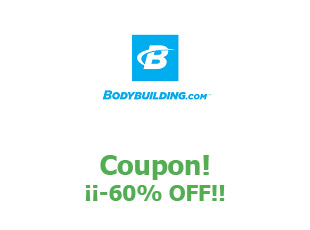 Coupons BodyBuilding save up to 60%