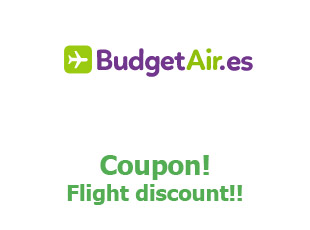 Discount code Budget Air 30% off