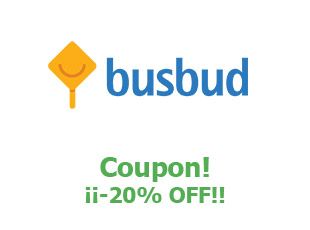 Discount code Busbud save up to 20%