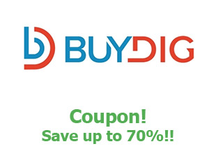 Promotional codes Buydig save up to 70%