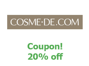 Coupons Cosme De save up to 10%