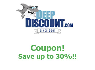Promotional codes Deep Discount save up to 50%